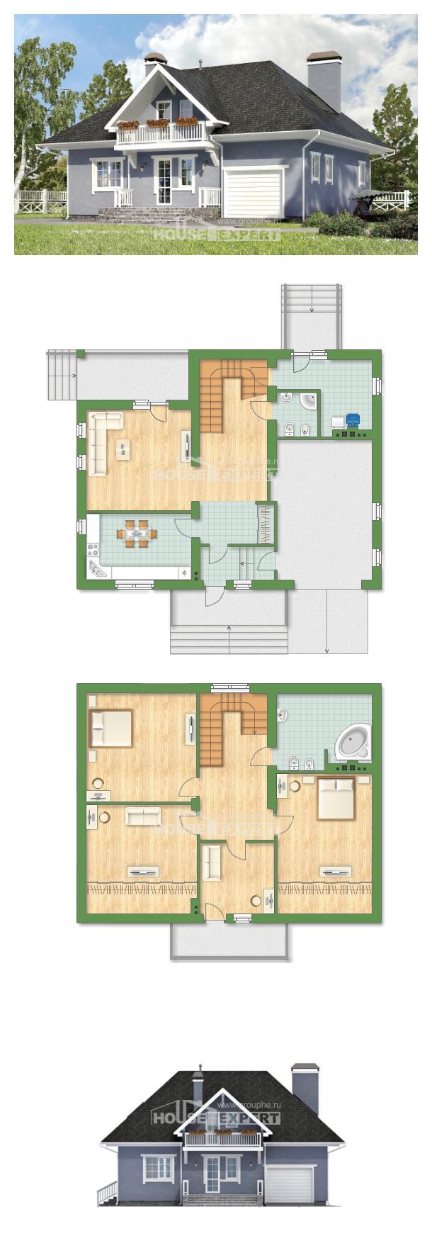 Проект дома 200-001-П | House Expert