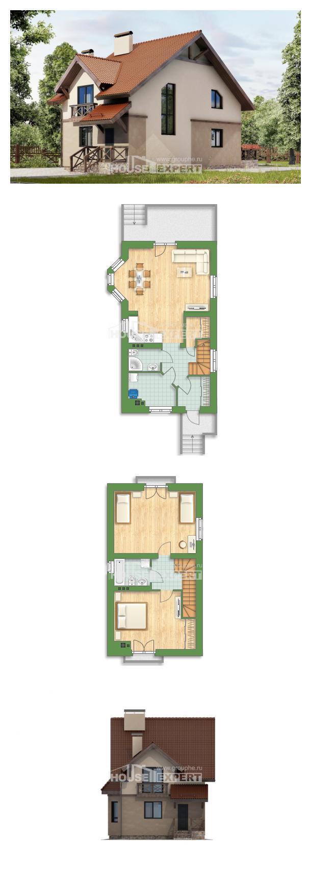 Проект дома 120-003-Л | House Expert