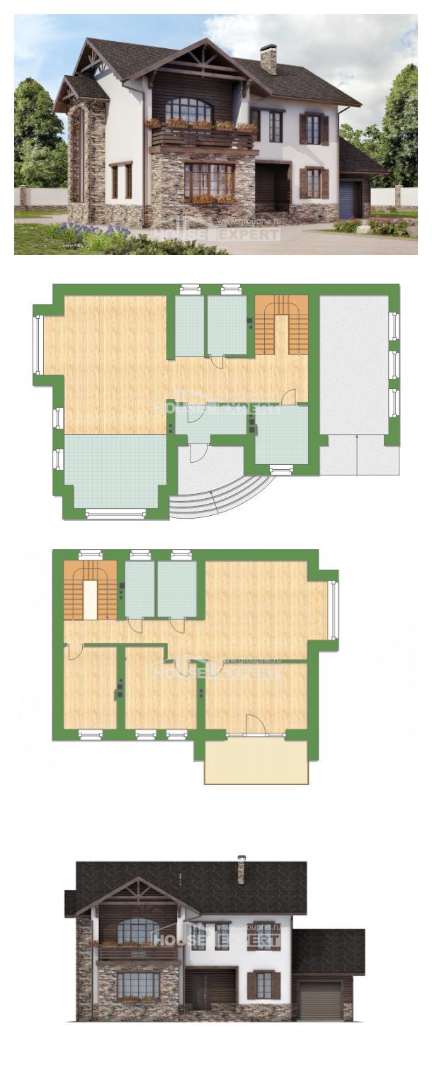 Проект дома 200-005-П   House Expert