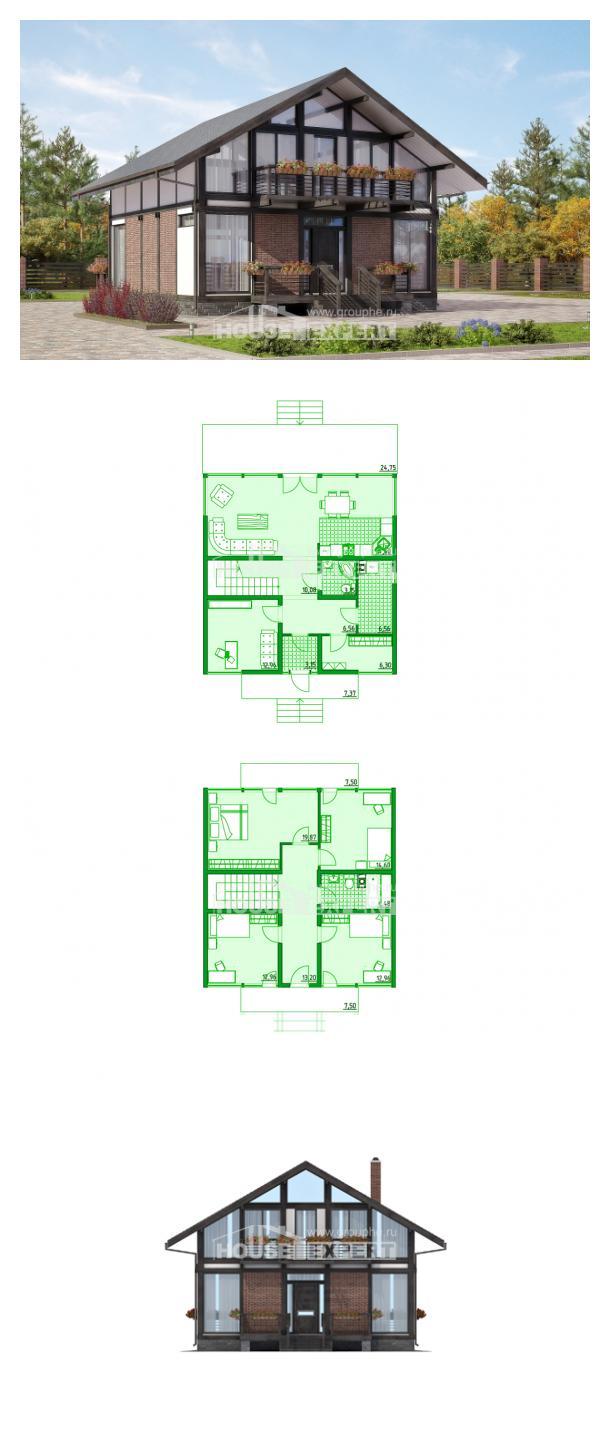 Проект дома 170-007-П   House Expert