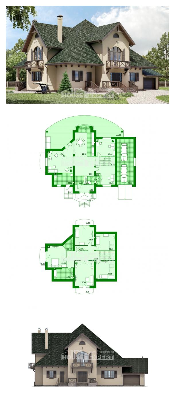 Проект дома 350-001-П   House Expert