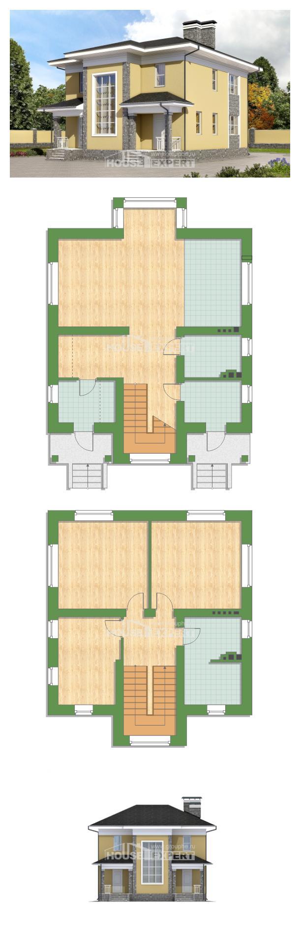 Проект дома 155-011-Л | House Expert